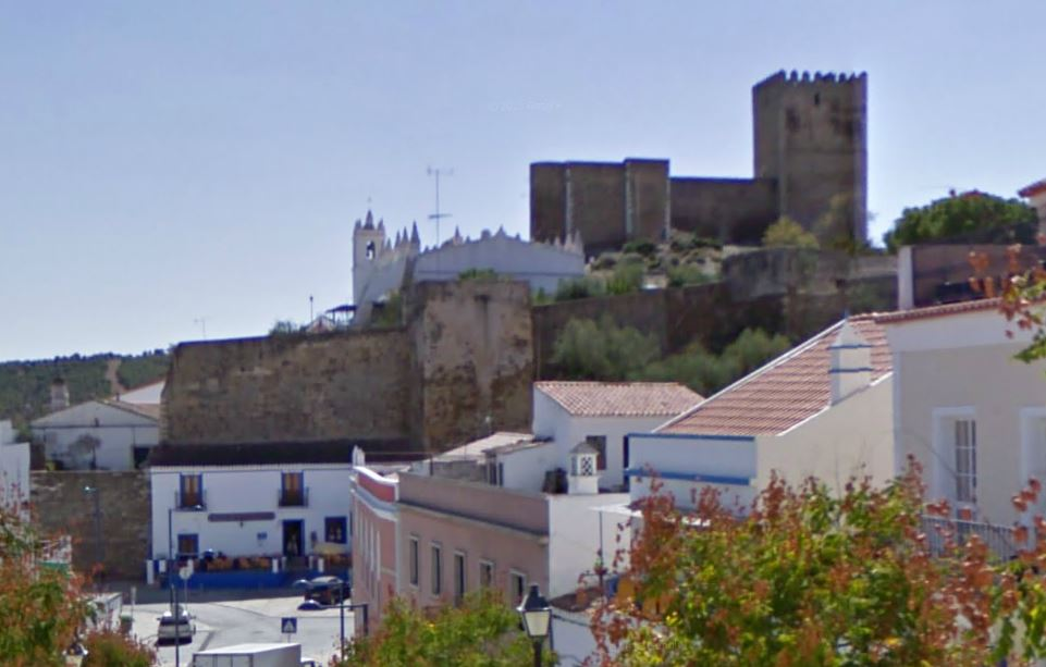 Portugal - Mertola001aa Castelo de Mertola Nationaal park Vale do Guadiana.JPG