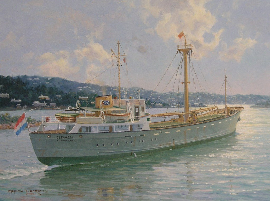 OLEANDER_ outbound from Hamilton c. 1955. She spent about 20 years on the New York-Bermuda run.jpg