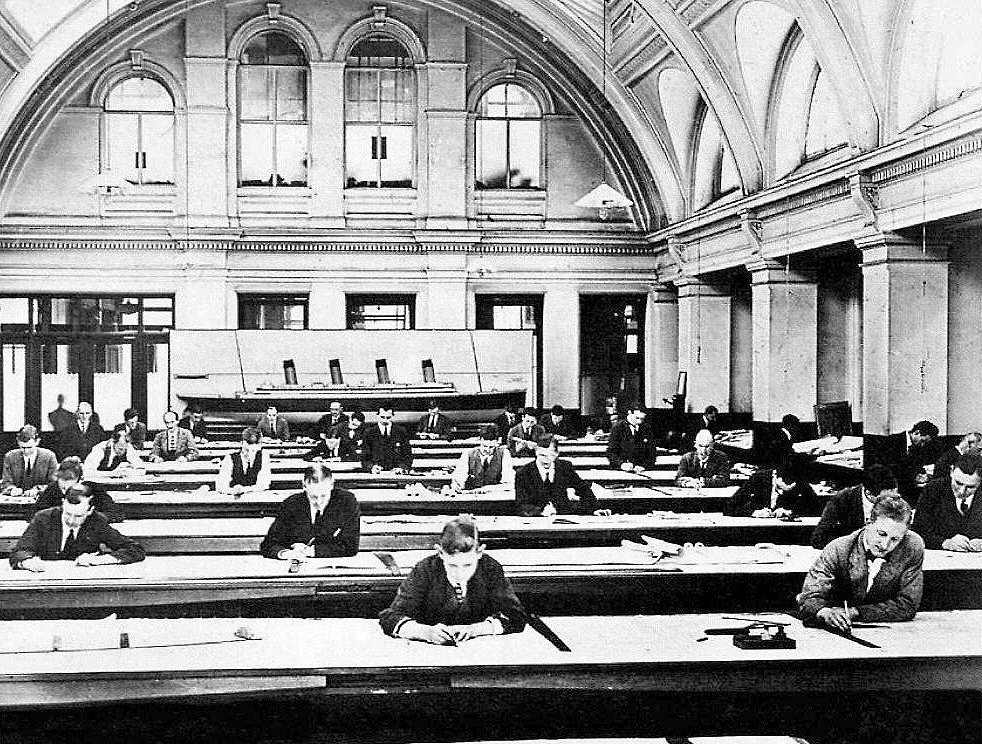 Harland & Wolff Shipyard Drawing Office.jpg