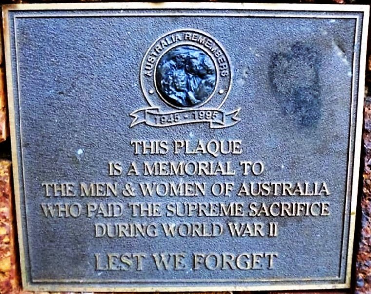 ARMADALE WAR MEMORIAL003 Plaque WWII.JPG