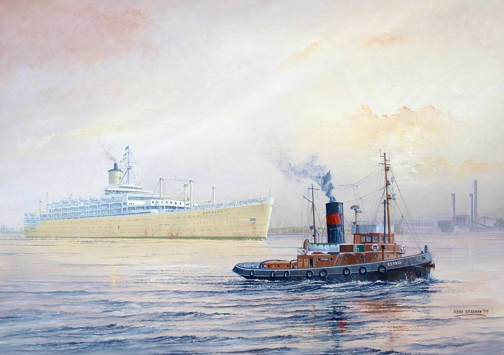 S83-Orcades (P&O) met Cervia in London-kl.jpg