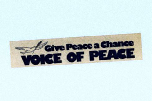 Sticker - Give Peace a chance - Voice op Peace.jpg